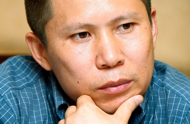 中国维权人士许志永(美联社)