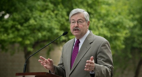美国驻华大使泰里·布兰斯塔德。(AFP)