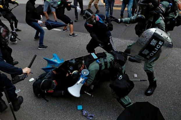 香港有团体发起光复屯门公园游行