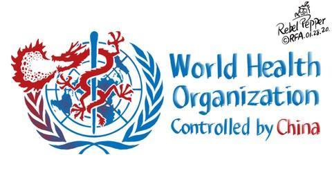 变态辣椒:中国疫情对全球构成高风险   世卫组织认错了!