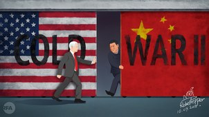 变态辣椒:美中冷战