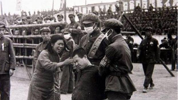 中共镇反运动历史图片。(Public Domain)