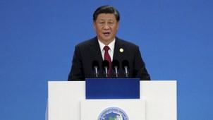 中共十九届四中全会后习近平于2019年11月5日在上海出席中国国际进口博览会。(美联社)