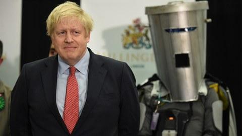 英国首相约翰逊。(法新社资料图片)