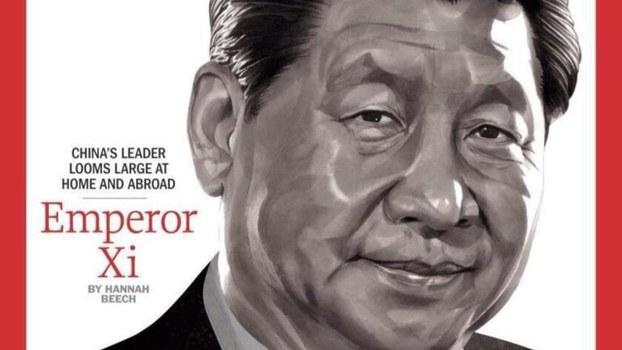中国国家主席习近平登上美国《时代》杂志的档案照片。(Public Domain)