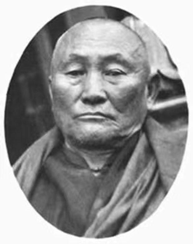 十三世尊者达赖喇嘛的外交官、布里亚特蒙古人阿旺洛桑多杰喇嘛。(唯色提供)