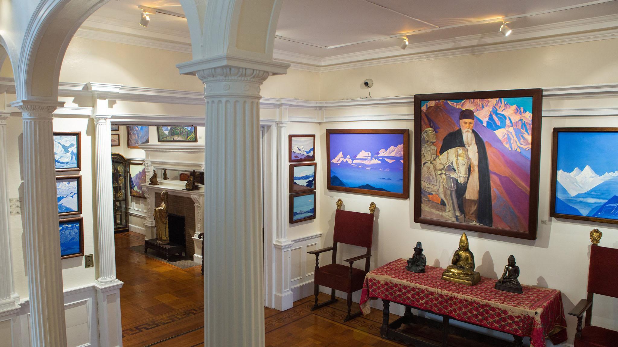 尼古拉斯·洛里奇在纽约的博物。(唯色提供)