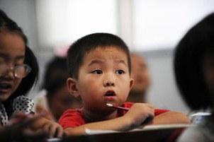 中国儿童。(资料照片)