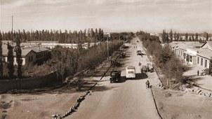 石河子兵团的历史照片。(Public Domain)