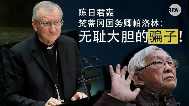 陈日君长文炮轰梵蒂冈国务卿帕洛林:无耻大胆的骗子!