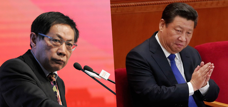 """任志强被重判,是要对党内""""反习""""力量起杀鸡儆猴之效,即使是""""红二代""""也不能幸免。(组合图片/AFP/AP)"""