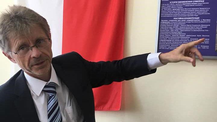 捷克参议院议长维特齐(Miloš Vystrčil)表示,自由、独立与民主是捷克最重要的价值,只要中国继续威胁,访台就更有可能成行。(图取自facebook.com/milosvystrcil)