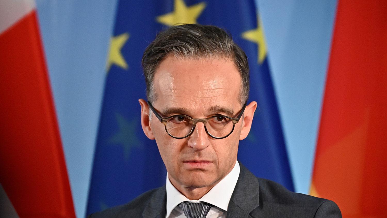 德国外交部长马斯 (Heiko Maas) 29日强调,在香港问题上,影响中国的最佳方式是欧盟团结一致做出回应,并与北京方面保持对话。(法新社图片)
