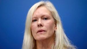 瑞典前驻华大使林戴安(Anna Lindstedt)。(美联社图片)