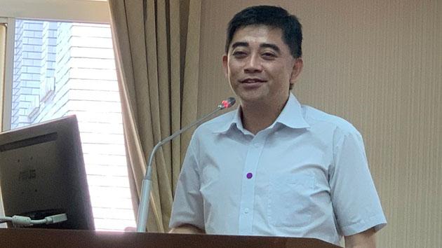 国发会前副主委邱俊荣称中国供应链难以摧毁。(记者 黄春梅摄)