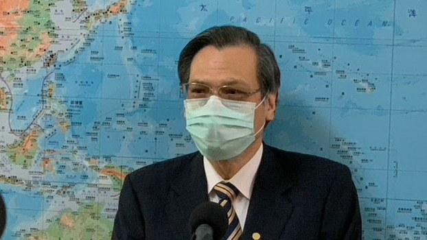 """台湾陆委会主委陈明通认为""""九二共识""""已经翻页。(记者 黄春梅摄)"""