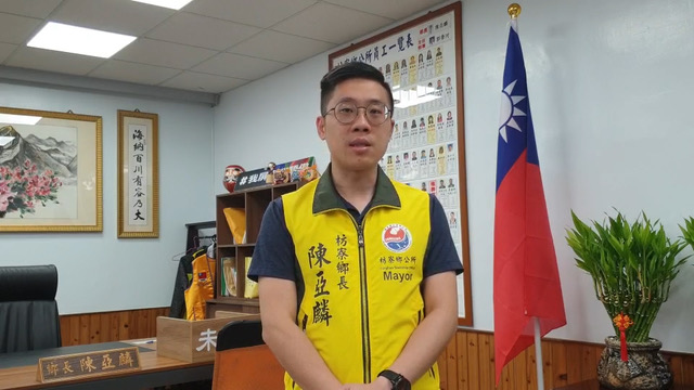 屏东县枋寮乡长陈亚麟要求中国交代有无刑求李孟居。(陈亚麟提供)