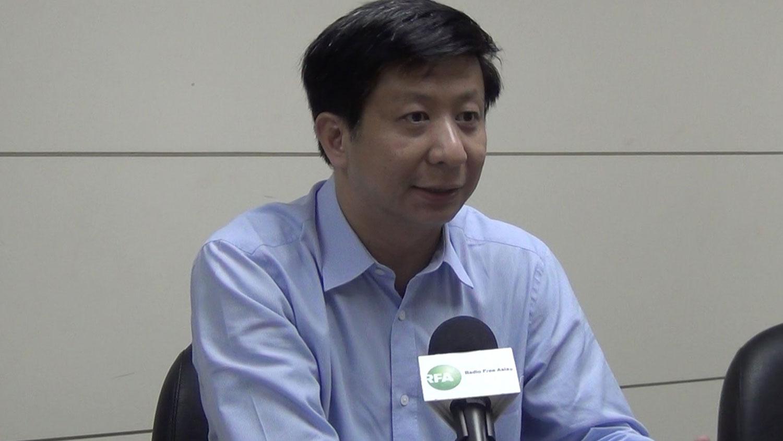 中华战略前瞻协会研究员揭仲(RFA资料照)