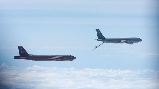 美国B-52轰炸机(资料照/路透社)