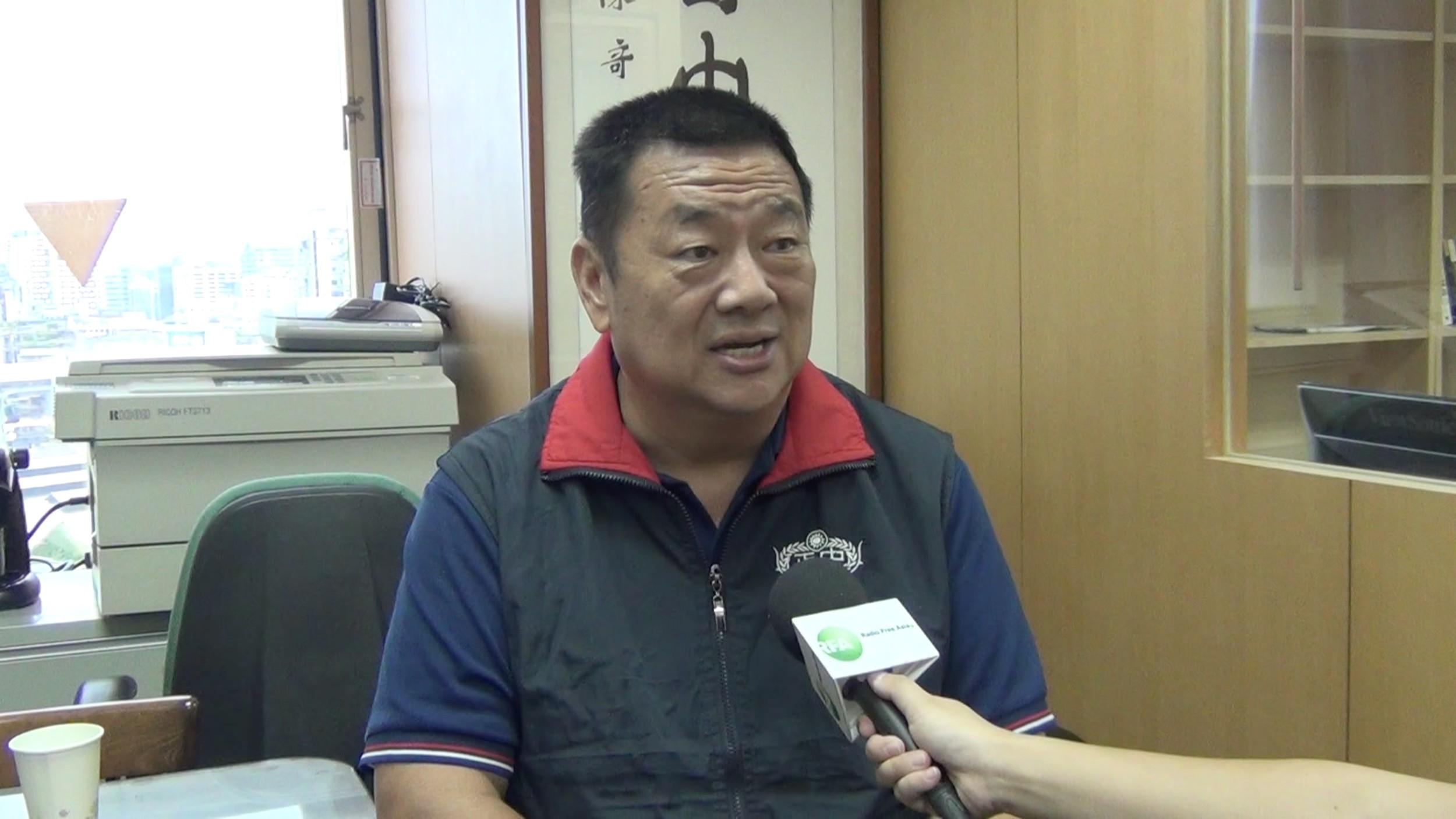 中华战略学会研究员张竞。(资料照/RFA)