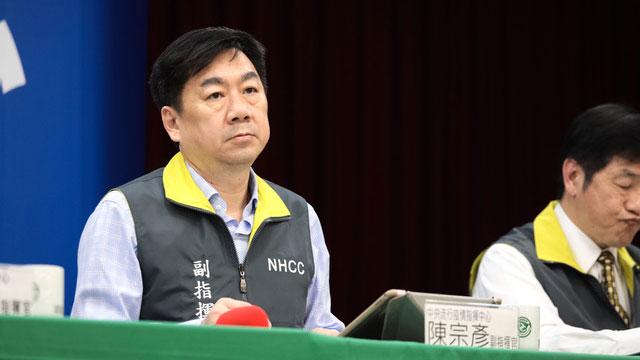 指挥中心副指挥官陈宗彦称已收到440人报名。(疾管署提供)