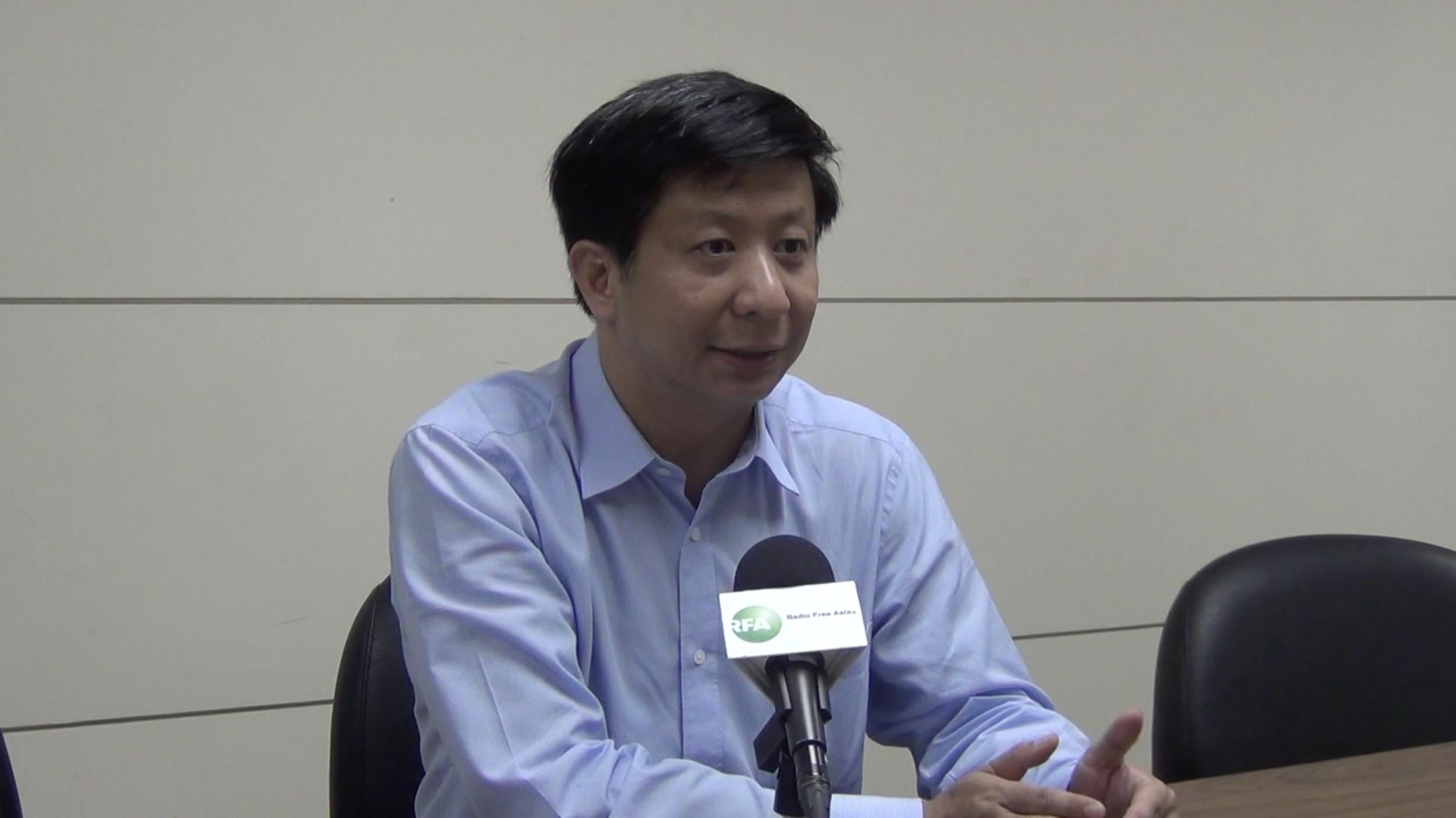 台湾国家政策研究基金会高级助理研究员揭仲。(RFA资料图)