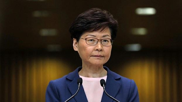 香港特首林郑月娥(美联社)