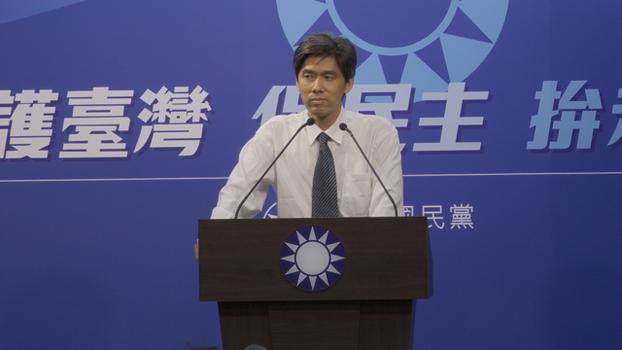 国民党大陆事务部主任左正东。(记者李宗翰摄)