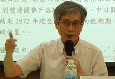 辅仁大学日文系教授何思慎。(夏小华摄)