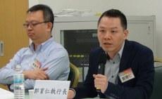 中山大学亚太区域研究所教授郭育仁。(夏小华摄)