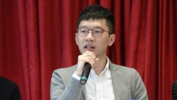 前香港立法会议员罗冠聪。(夏小华摄)