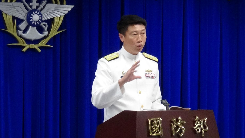 情研中心主任朱惠民少将。(记者夏小华摄)