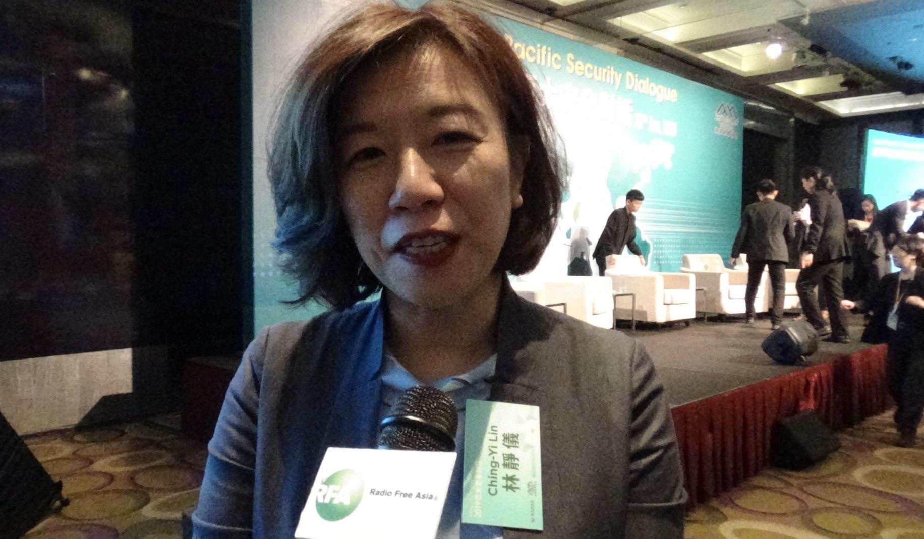 民进党籍立法委员林静仪。(资料照/记者夏小华摄)