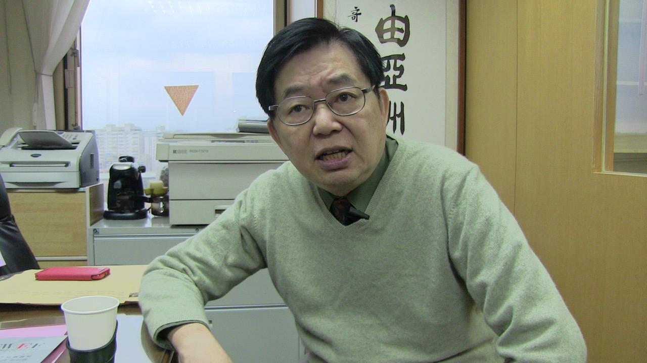台湾政治大学国际关系研究中心美欧所研究员严震生。(资料照/夏小华摄)