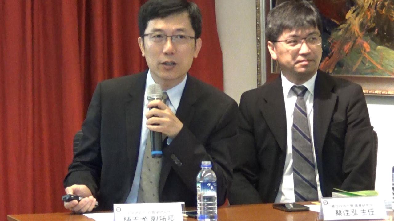 中央研究院社会研究所副所长陈志柔。(记者夏小华摄)