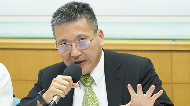 淡江大学两岸关系研究中心主任张五岳(RFA资料照)