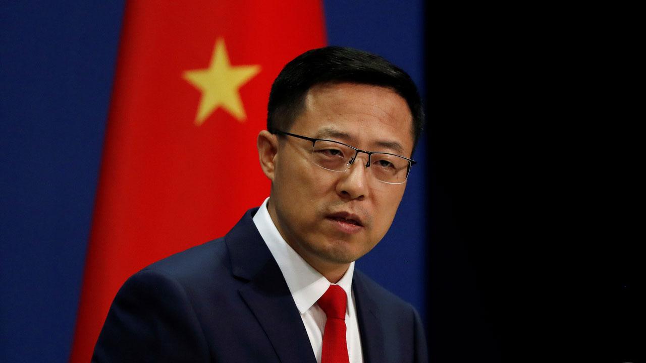 中国大陆外交部发言人赵立坚20日表示,中方坚决反对任何形式的美台官方往来,中方将根据形势发展做出正当、必要反应。(路透社)