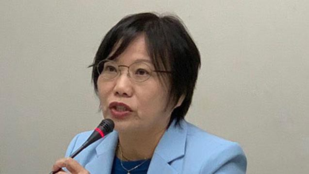 台湾民进党立委刘世芳。(RFA资料照)
