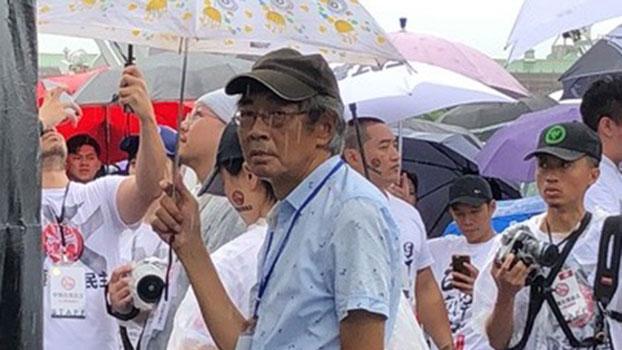 前香港铜锣湾书店店长林荣基呼吁港人离开香港。(资料照、记者夏小华摄)