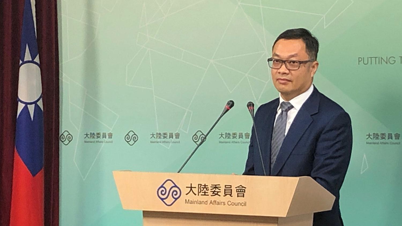 陆委会副主委陈明祺呼吁陆方同意让李明哲返台奔丧。(资料照、记者夏小华摄)