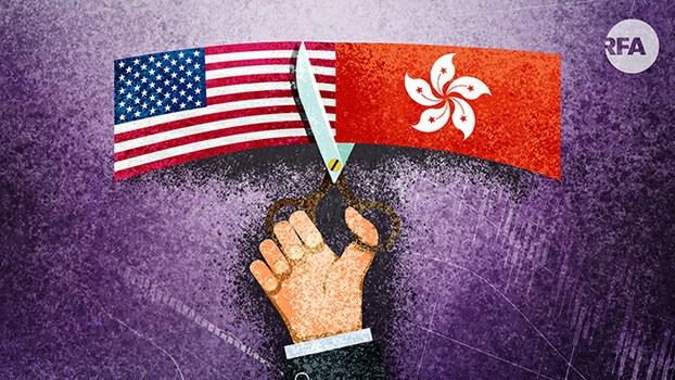 美国会终止香港优惠待遇吗?(自由亚洲电台制图)