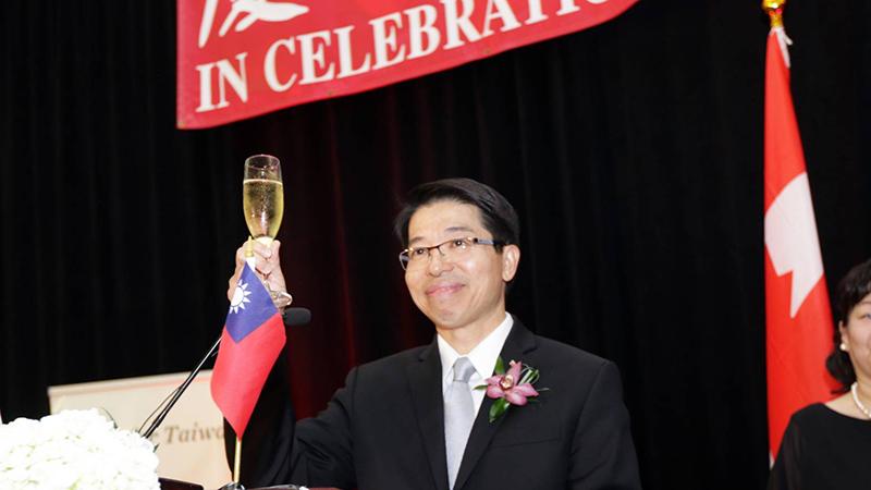 驻加拿大台北经济文化办事处代表陈文仪 (驻加拿大台北经济文化办事处提供)