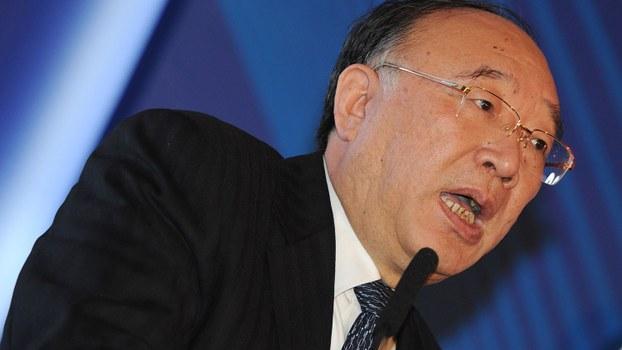 重庆前市长黄奇帆,近期在广东出席中国金融四十人论坛上发表演讲时,明确表示香港的地位不可取代。(资料图/法新社)