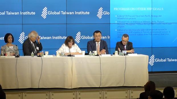 美国华盛顿智库全球台湾研究中心(Global Taiwan Institute)11日召开年度研讨会,探讨美台关系等问题。(视频截图/GTI)
