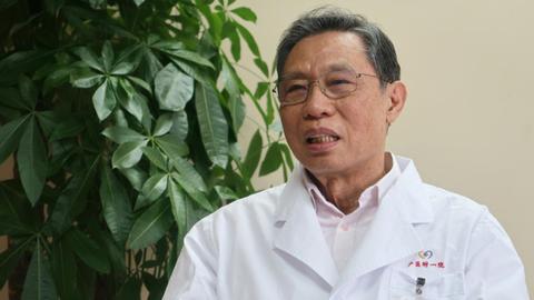 中国传染病专家钟南山(路透社)