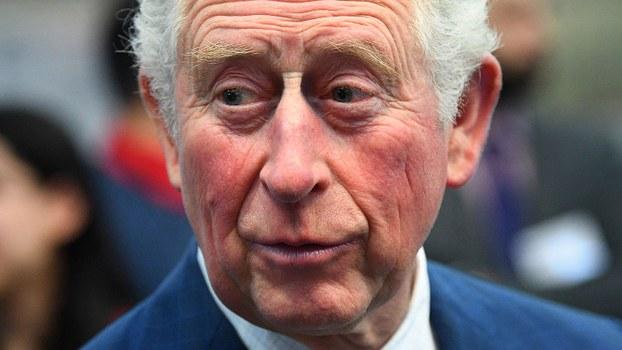 英国王室25日发表声明说,王储查尔斯(Prince Charles)确诊感染武汉肺炎。(法新社)