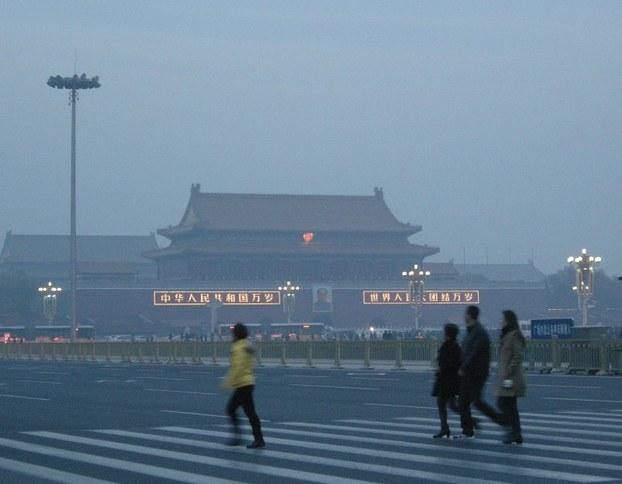 图片: 北京雾霾天气持续加重,空气质量重度污染。 (法新社资料图片)