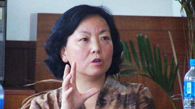 中国武汉作家方方(微博图片)