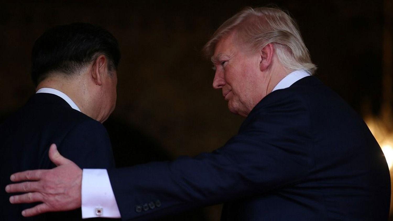特朗普27日就打电话给中国国家主席习近平。强调中美共同抗疫。(路透社资料图片)
