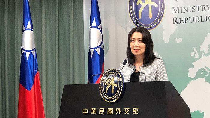 台湾的外交部发言人欧江安。(RFA资料图)